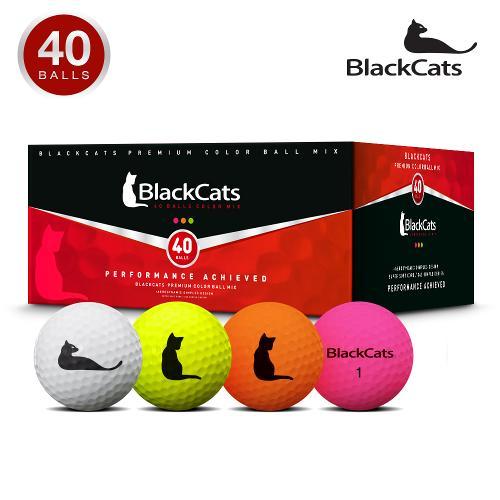 블랙캣츠 21년형 액션I 무광컬러혼합 40알 골프공