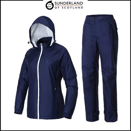 선덜랜드 여성 방수 비옷 상하의세트 - 16912RW61RP61