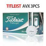 [타이틀리스트] AVX 3PCS 골프볼 골프공 포장가능