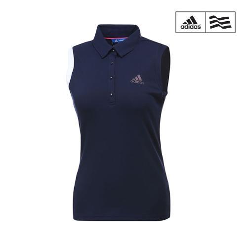 [아디다스골프] 여성 아디크로스 클라이마쿨 민소매 티셔츠 CV8753_GA