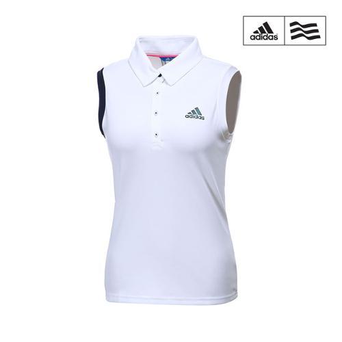 [아디다스골프] 여성 아디크로스 클라이마쿨 민소매 티셔츠 CV8755_GA