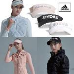아디다스 여성 로고 바이저_N68634 N68635 N68636_골프모자 골프용품 필드용품 ADIDAS W LOGO VISOR