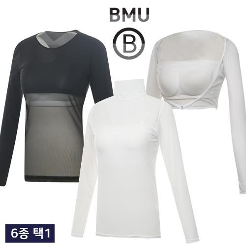 [BMU] UV차단 COOL 여성 볼레로형/메쉬/솔리드 이너웨어 균일가/골프웨어_245307