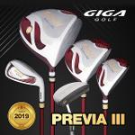 (기가골프정품) 2019 프리비아3 (PREVIA III) 여성용 풀세트(12PCS)
