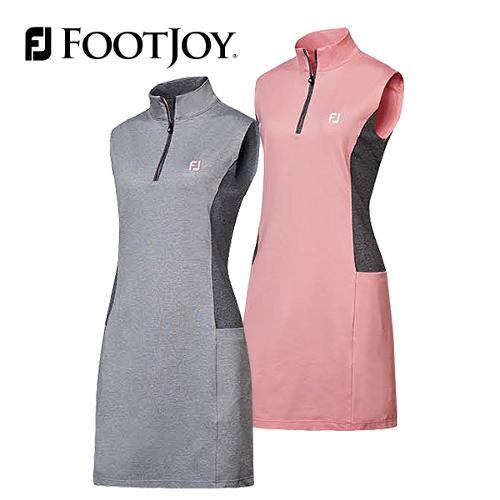 풋조이 컬러 블록 여성 민소매 드레스 94744 94745