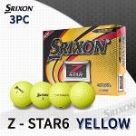 던롭 스릭슨 Z-STAR6 3피스 골프볼 골프공