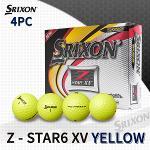 던롭 스릭슨 Z-STAR6 XV 4피스 골프볼 골프공