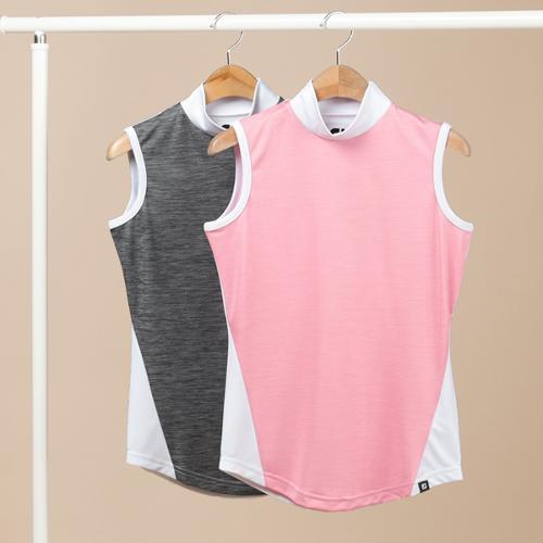 풋조이 슬리브리스 스페이스 셔츠 여성 민소매 티셔츠