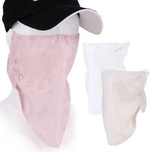 [KAXIYA] 카시야 자외선차단 여성용 쉬폰 마스크