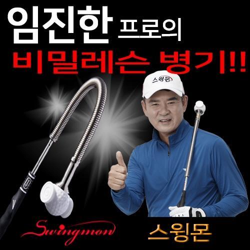 [임진한프로-특허출원]SWING 스윙몬 그네공학 스윙연습기[비거리상승]