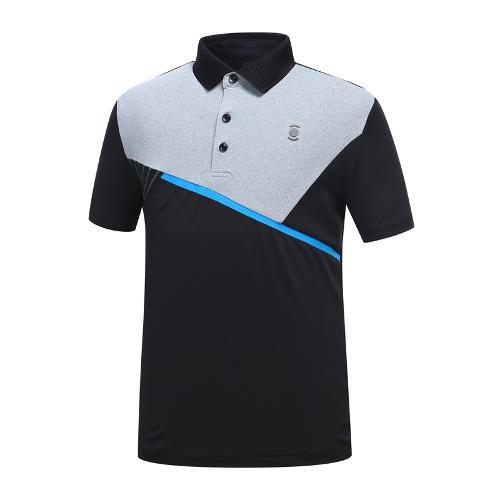 [와이드앵글] 남성 변형 배색 티셔츠 2 WMM19241Z1