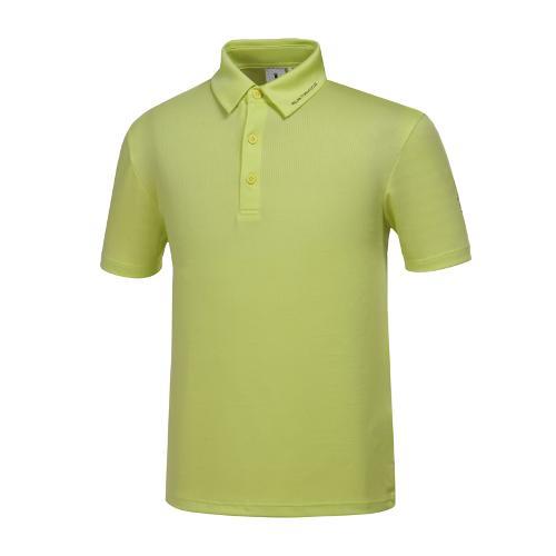 [와이드앵글] 남성 메쉬 자카드 티셔츠 WMM19218G1