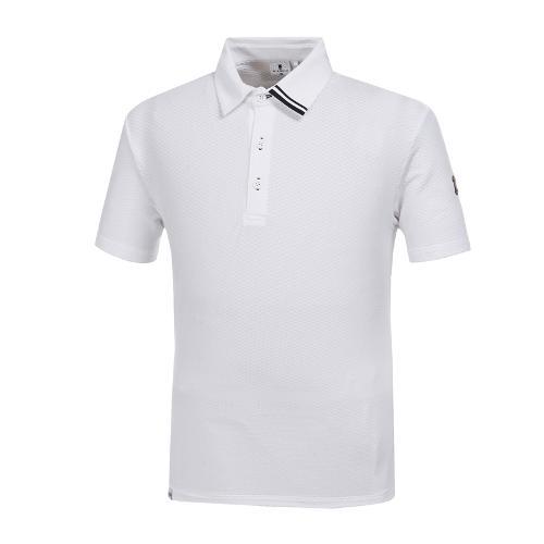 [와이드앵글] 남성 W.아이스 잔조직 티셔츠 WMM19227W2