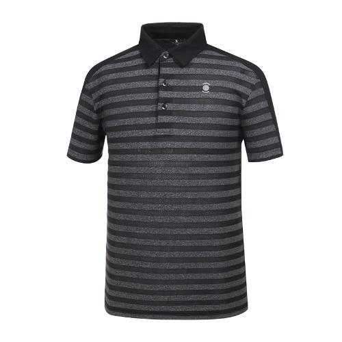 [와이드앵글] 남성 조직 믹스 자카드 티셔츠 WMM19243Z1