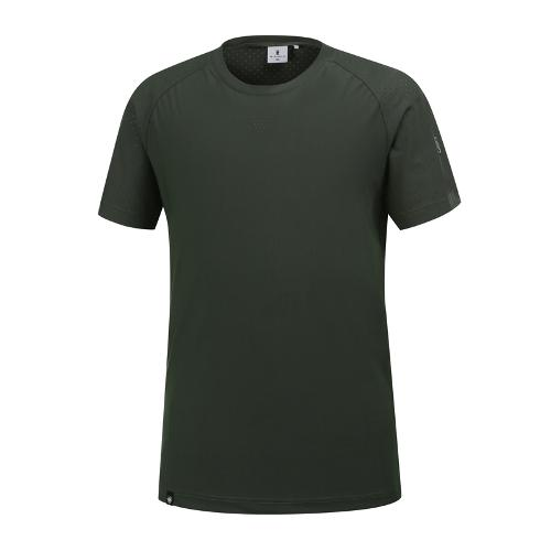 [와이드앵글] 남성 W.아이스 라운드 티셔츠 WMM19224K7