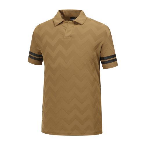 [와이드앵글] 남성 클럽스칸딕 자카드 티셔츠 WMM19254E3