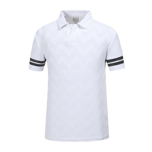 [와이드앵글] 남성 클럽스칸딕 자카드 티셔츠 WMM19254W2