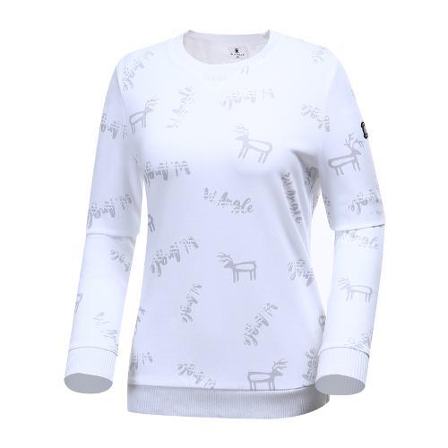 [와이드앵글] 여성 혼디어믹스 풀오버 티셔츠 WWP19231W2