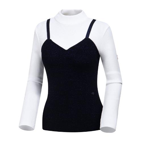[와이드앵글] 여성 클럽스칸딕 메탈믹스 스웨터 WWP19K38W2