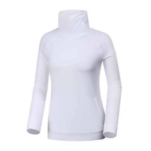 [와이드앵글] 여성 변형넥 풀오버형 티셔츠 WWP19205W2