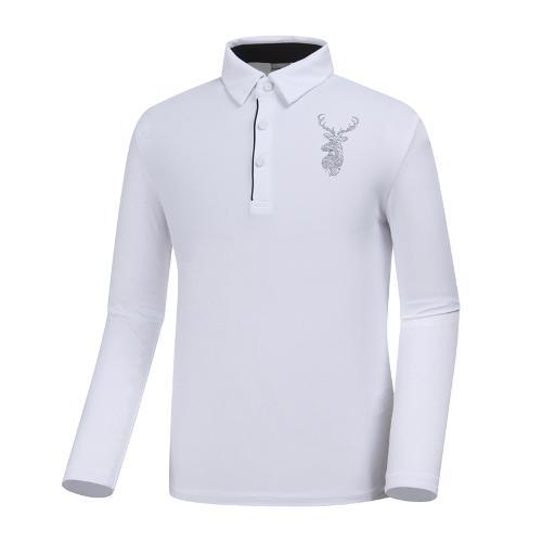 [와이드앵글] 남성 클럽스칸딕 혼디어 포인트 티셔츠 WMP19237W2
