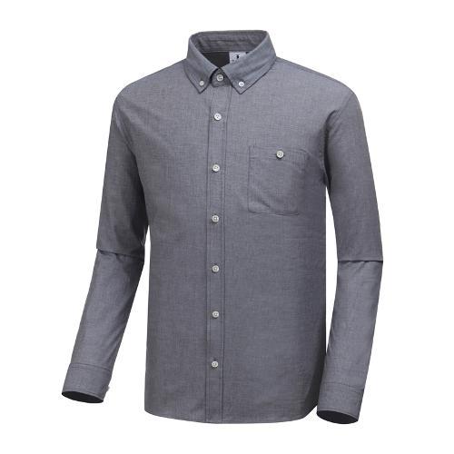 [와이드앵글] 남성 클럽스칸딕 데님라이크 셔츠 WMP19432C2