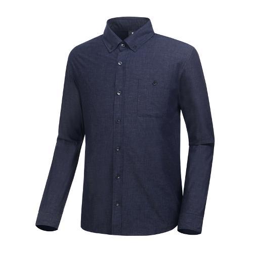 [와이드앵글] 남성 클럽스칸딕 데님라이크 셔츠 WMP19432N4