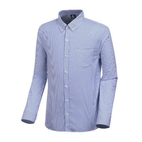 [와이드앵글] 남성 스트라이프 버튼다운 셔츠 WMP19434B8