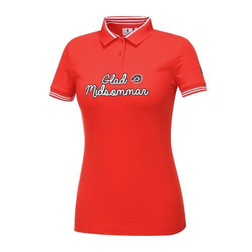 [와이드앵글] 여성 베이직 원포인트 카라 티셔츠 WWM18231R2