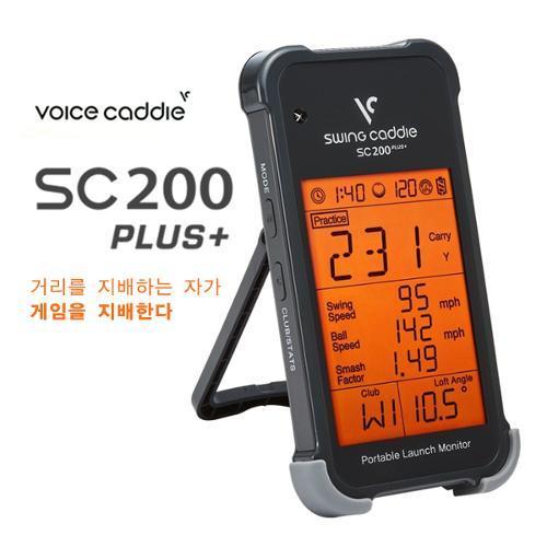[2019년신상]보이스캐디 SC200 PLUS+ 휴대형 스윙분석기 스윙캐디
