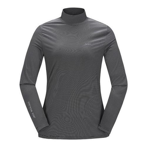 [JACKNICKLAUS] 여성 S/T 아이스 스킨 티셔츠_LWTAM18821BKX