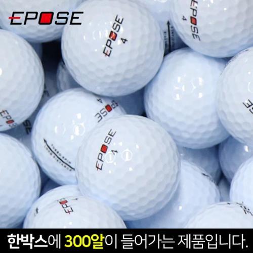 [300알-새제품]EPOSE 이포스 2피스 비거리 소프트 투어급 골프공-300알