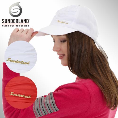 [Sunderland Of Scotland] 선덜랜드 여성 금사로고 셔링 폴라폴리스 리본모자 - 16332CP11