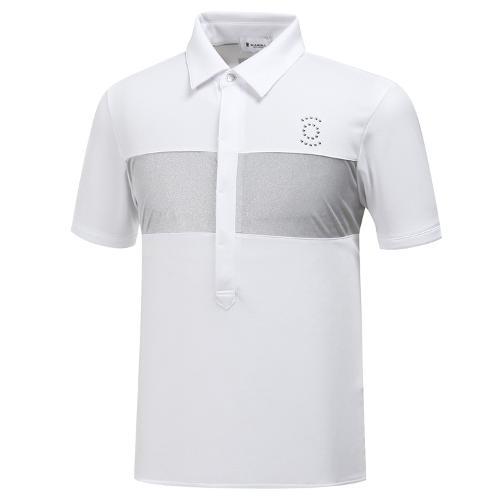 [와이드앵글] 남성 JAPAN 메탈 배색 티셔츠 WMM19273W2