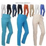 [루센 外] 깔끔한 스타일의 컬러풀한 숨김밴딩/스판 기능성 골프팬츠 6종 택일