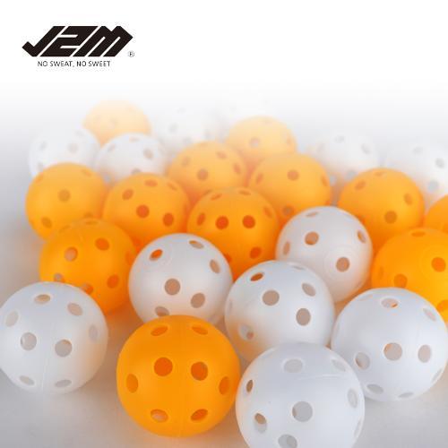(PV)실내외연습 골프공 구멍플라스틱공(6p)