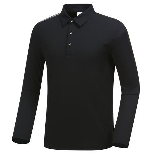 [와이드앵글] 남성 솔리드 긴팔 티셔츠 WMU19203Z1