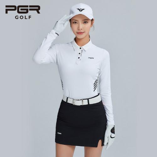 PGR GOLF 여성 스판소재 큐롯 골프치마 - GS-152