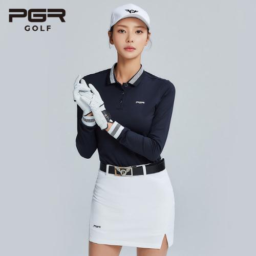 PGR GOLF 여성 스판소재 큐롯 골프치마 - GS-153