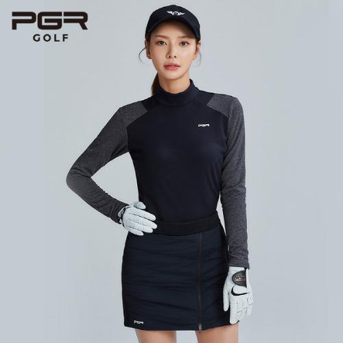 PGR GOLF 여성 방한 구스다운 큐롯 패딩치마 - GS-601