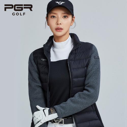 PGR GOLF 여성 방한 구스다운 패딩자켓 - GW-433