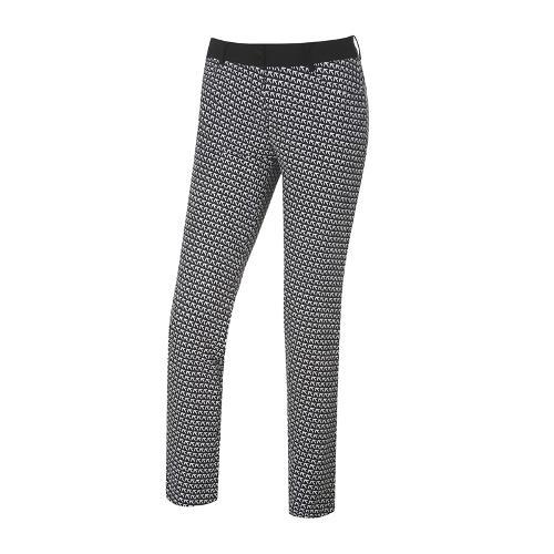 [와이드앵글] 여성 스트릿 프린트 패턴 팬츠 WWU18302Z1