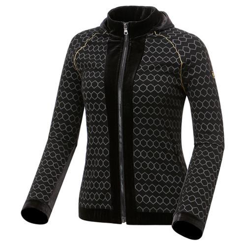 [와이드앵글] 여성 SCANDIC HIGH 패턴 풀집업 긴팔 티셔츠 WWU17251Z1