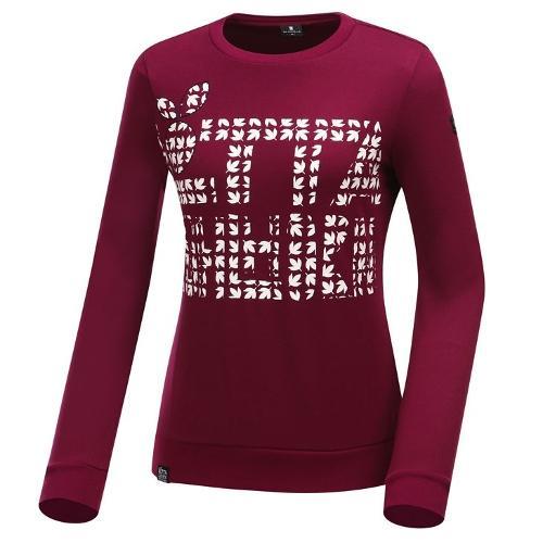 [와이드앵글] 여성 로타 콜라보 워딩포인트 풀오버 긴팔 티셔츠 WWW19238R8