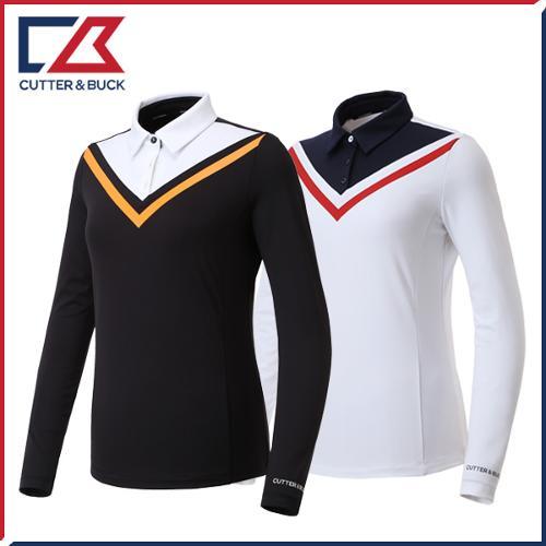 커터앤벅 여성 스판 긴팔티셔츠 - PB-11-193-201-34