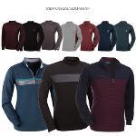 [파크타운 外] 너무 편하게 입을 수 있는 기모 하프집업&하프넥 티셔츠 6종 택일