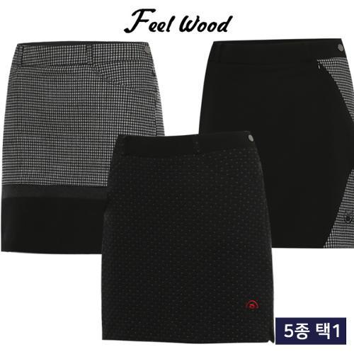 [필우드 골프] FW 스트레치 여성 골프 큐롯 5종 택1/골프웨어_248206