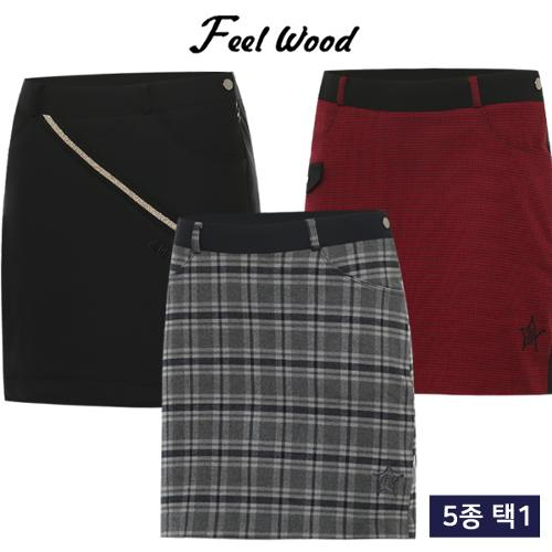 [필우드 골프] FW BEST 폴리스판 여성 골프 큐롯 5종 택1/골프웨어_248205