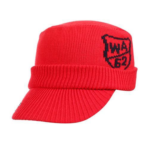 [와이드앵글] 남녀공용 니트 밀리터리캡 WMW17C03R2