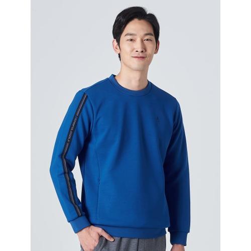 [빈폴골프] 남성 블루 로고 테이프 스웨트 셔츠 (BJ0Z41B03P)